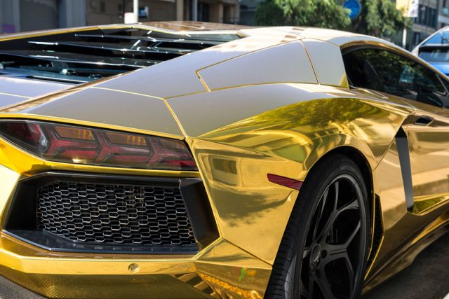How do people afford luxury cars in Dubai?